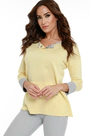 Angel Apparel Buttercup Sweater - Front cropped
