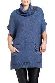 Angel Apparel Cowl-Neck Sweater - Product Mini Image