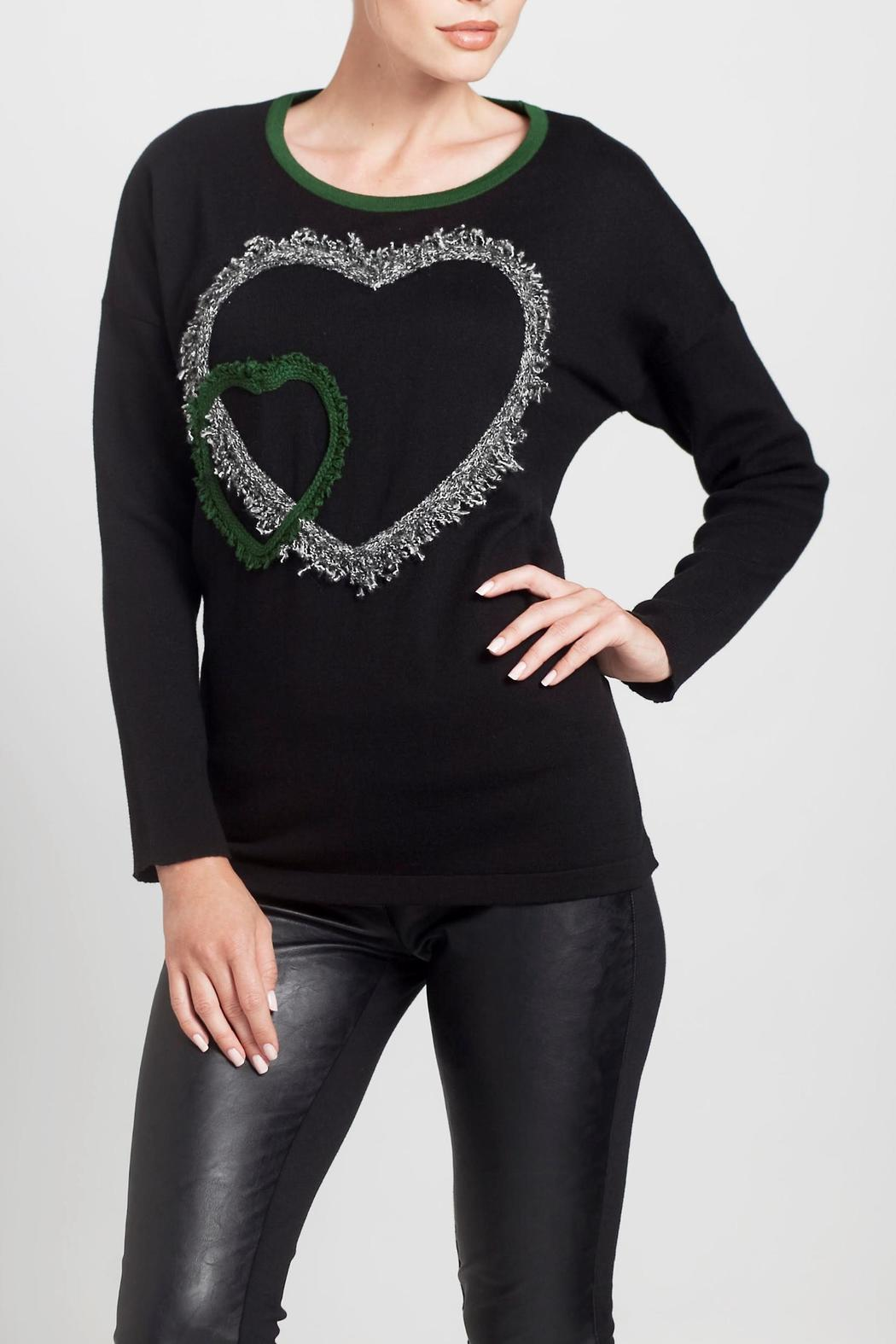 Angel Apparel Double Heart Sweater - Main Image