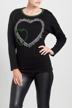 Angel Apparel Double Heart Sweater - Product List Image