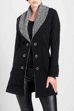 Angel Apparel Knit Collar Jacket - Product List Image
