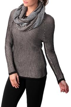 Angel Apparel Rib Tunic With Scarf - Alternate List Image