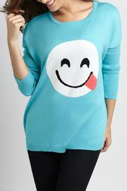Angel Apparel Scoop Neck Pullover - Front full body