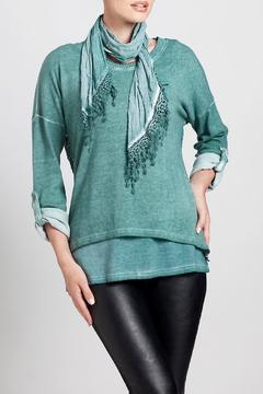 Angel Apparel Top With A Scarf - Product List Image