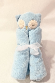 Angel Dear Blue Owl Baby Blanket - Product Mini Image