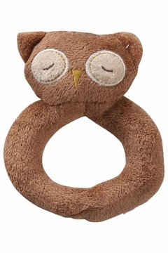 Angel Dear Ring Rattle - Owl - Product List Image