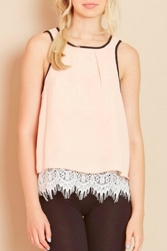 Shoptiques Product: Katie Lace Back Blouse