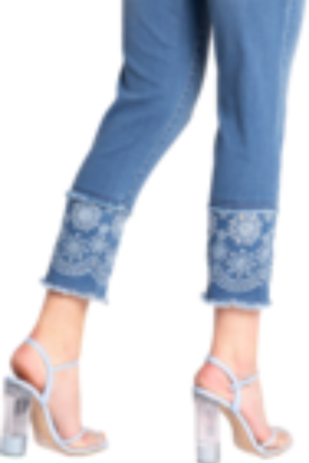 Carreli Jeans Angela High Rice Ankle Slim - Front Full Image