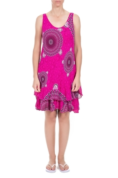 Angela Mara Pink Flamingo Sundress - Alternate List Image