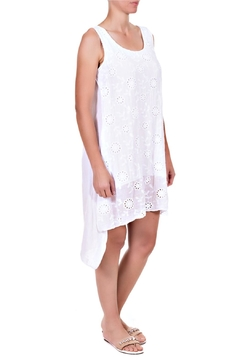 Angela Mara White Eyelet Sundress - Alternate List Image
