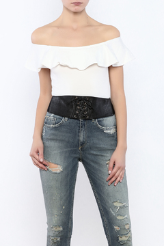 Shoptiques Product: Lace Up Belt