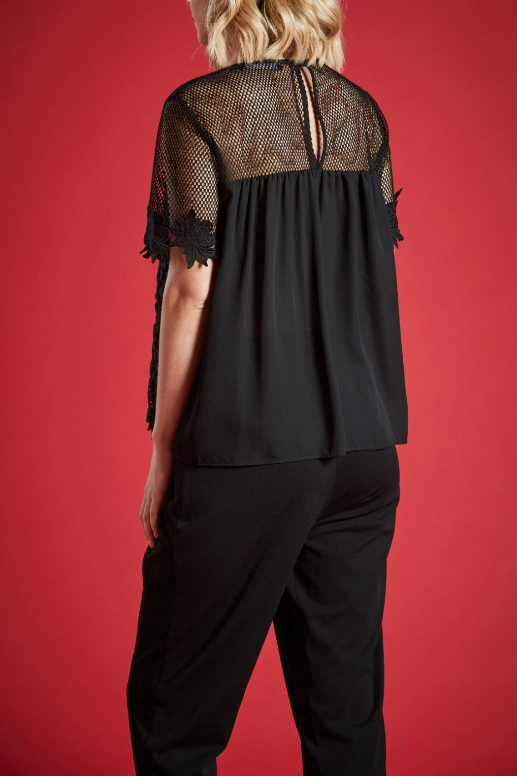 Angeleye London Elizer Blouse - Side Cropped Image