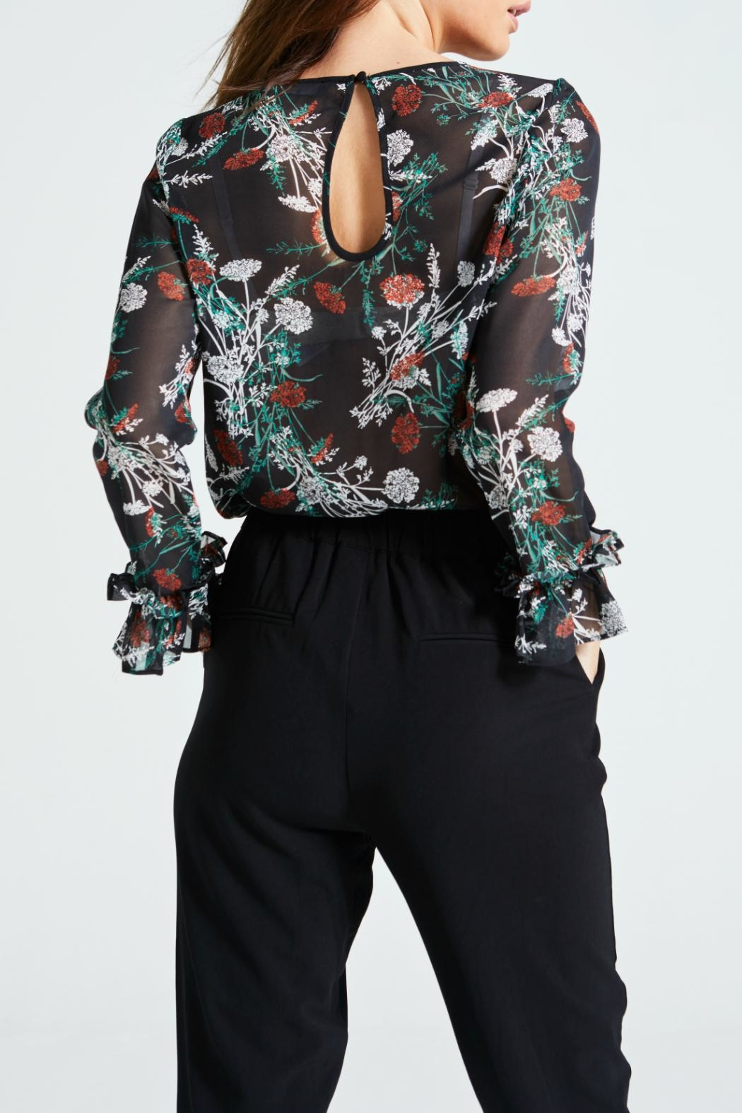 Angeleye London Millie Blouse - Side Cropped Image