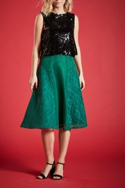 Angeleye London Opal Sequined Top - Front cropped