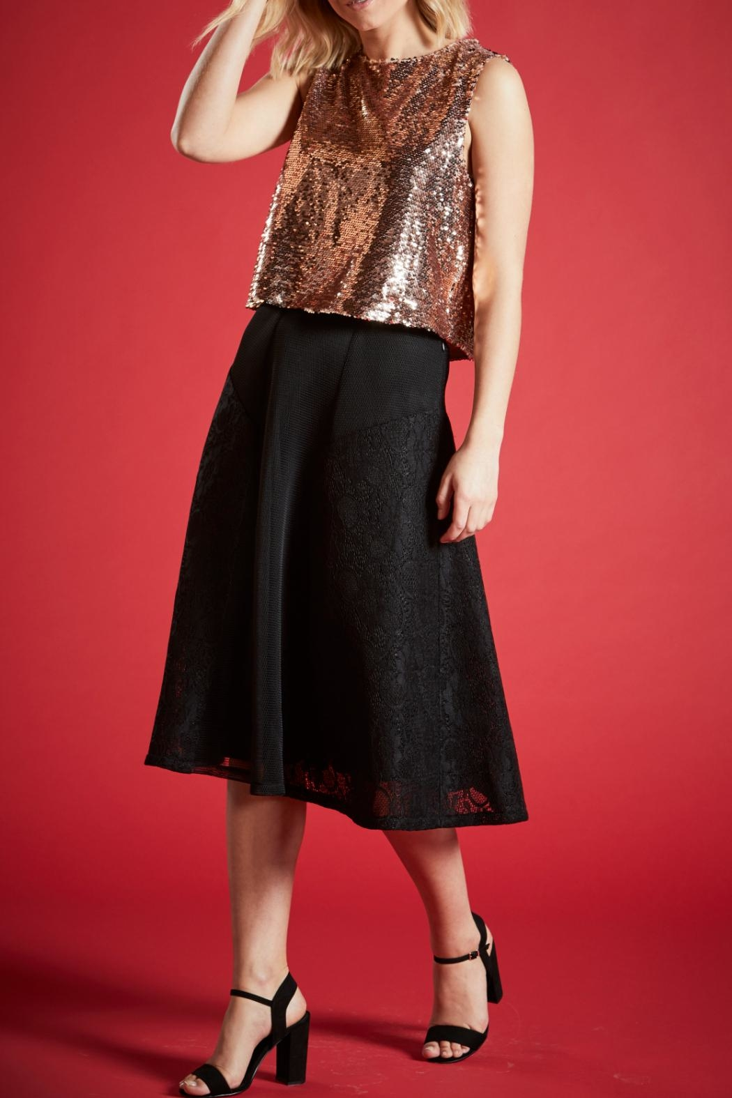 Angeleye London Opal Sequined Top - Front Full Image