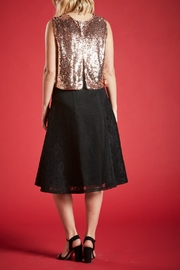 Angeleye London Opal Sequined Top - Side cropped