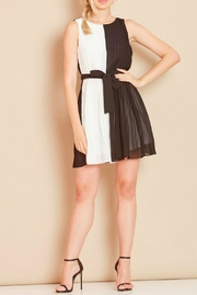 Angeleye London Pleated Shift Dress - Product Mini Image