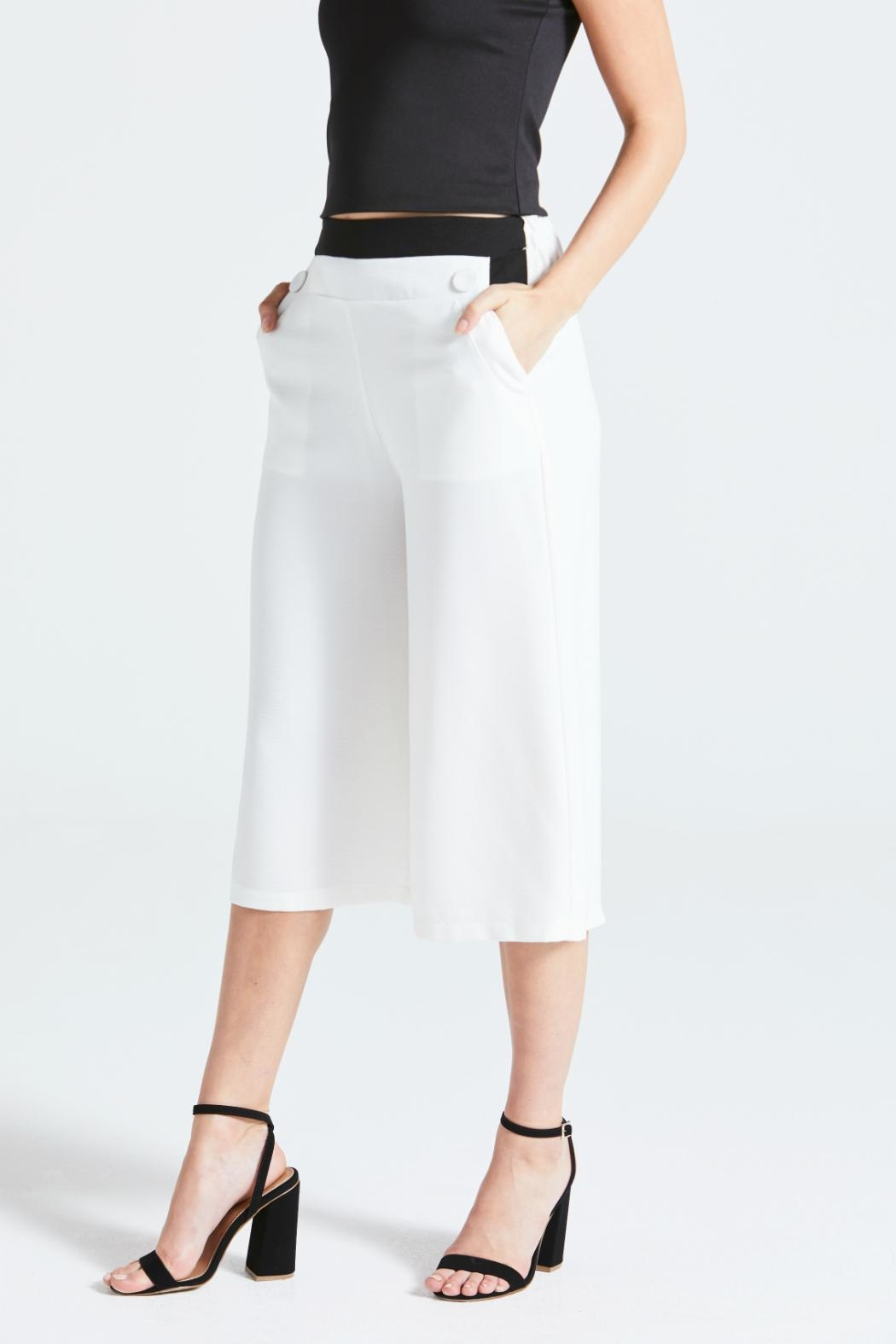 Angeleye London Renis Culottes - Front Cropped Image