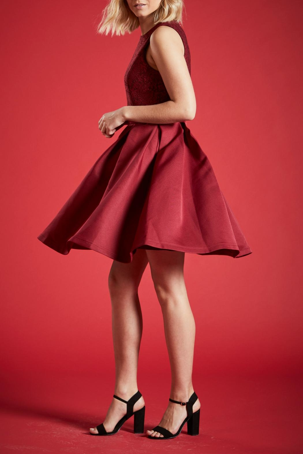 Angeleye London Ruby Party Dress - Side Cropped Image