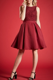 Angeleye London Ruby Party Dress - Product Mini Image
