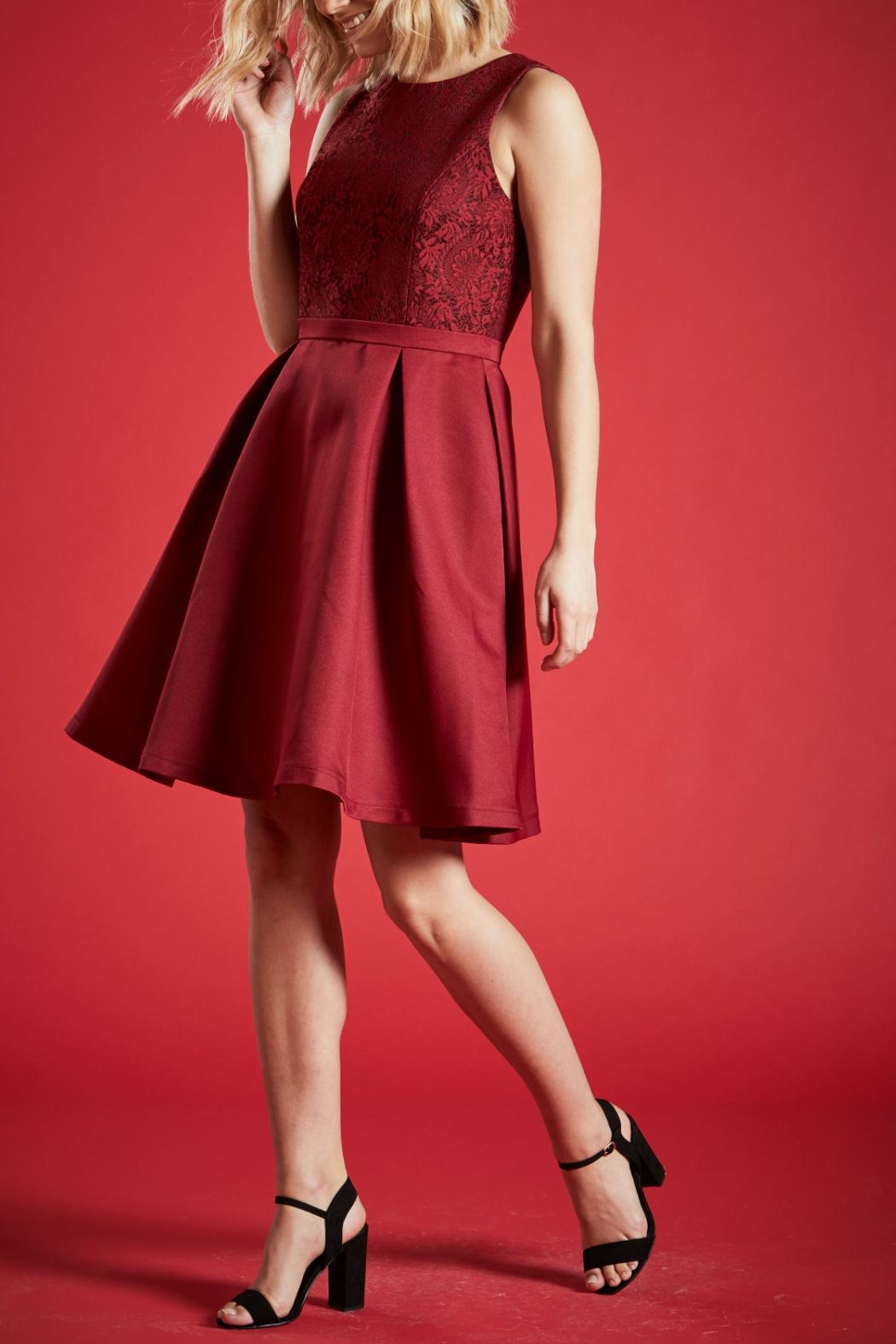 Angeleye London Ruby Party Dress - Front Full Image