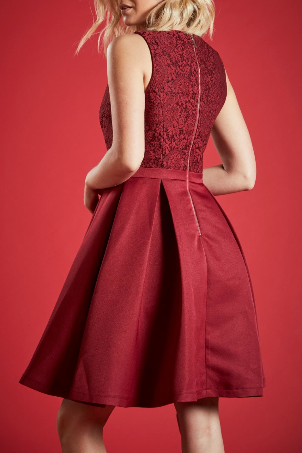 Angeleye London Ruby Party Dress - Back Cropped Image