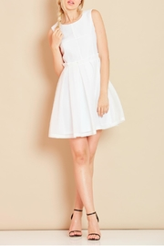 Angeleye London Ruffled Fit And Flare Dress - Product Mini Image