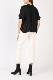 Current Air Angelic Pleated Blouse - Front full body