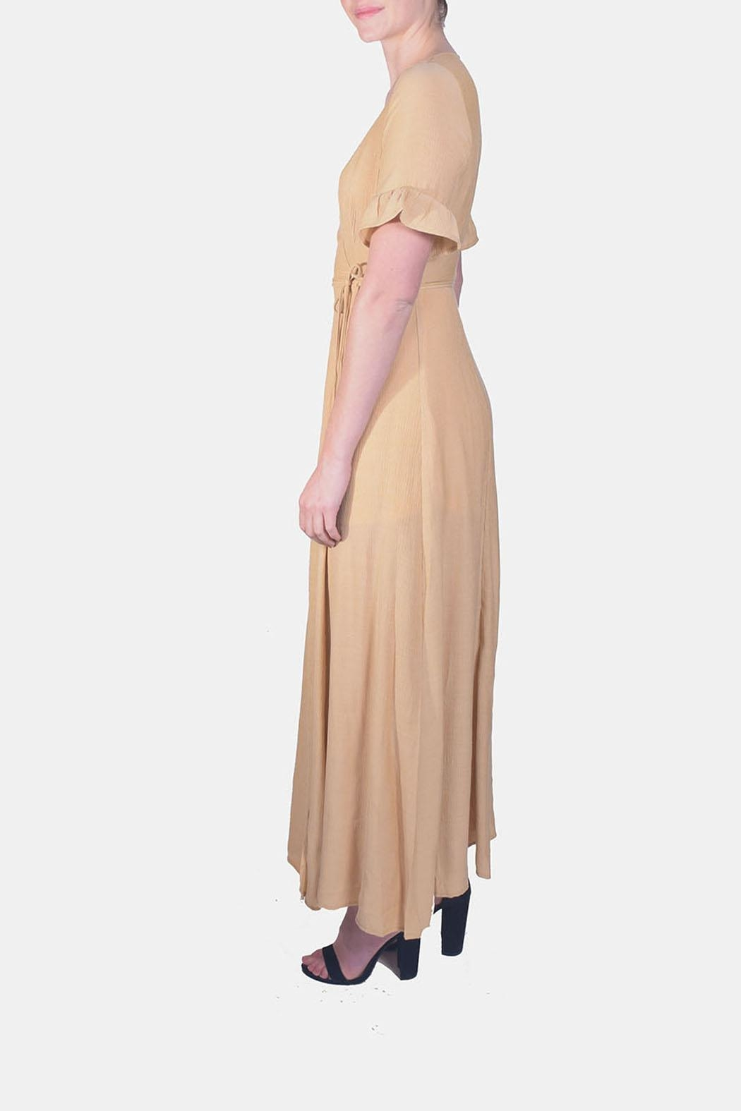 rokoko Angelic Wrap Maxi-Dress - Front Full Image