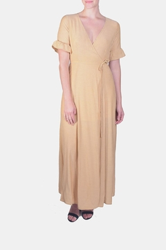 Shoptiques Product: Angelic Wrap Maxi-Dress
