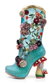 Irregular Choice Angelica Pearson Boots - Product Mini Image