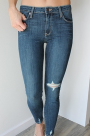 just black Angelina Distressed Denim - Product Mini Image