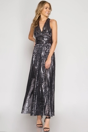 She + Sky Angelina Sequin Dress - Product Mini Image