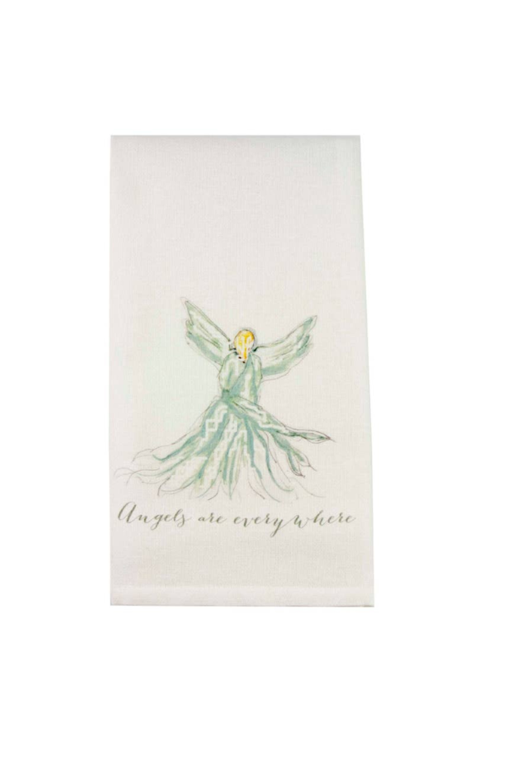 The Birds Nest ANGELS ARE EVERYWHERE-TURQUOISE - Main Image