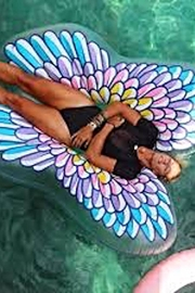 BigMouth Inc Angelwing Pool Float - Product Mini Image