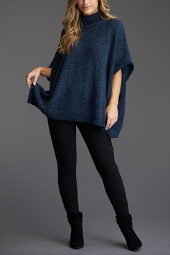 Tart Collections Angi Chenille Sweater Poncho - Product List Image