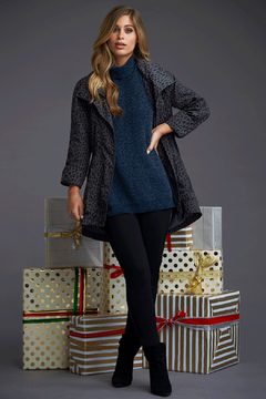 Tart Collections Angi Chenille Sweater Poncho - Alternate List Image
