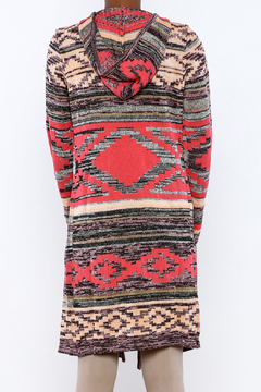 Angie Aztec Print Cardi - Alternate List Image