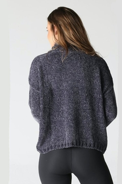Angie Chenille Cozy Turtleneck - Alternate List Image