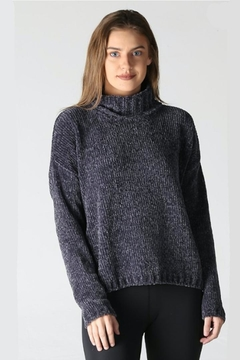 Angie Chenille Cozy Turtleneck - Product List Image