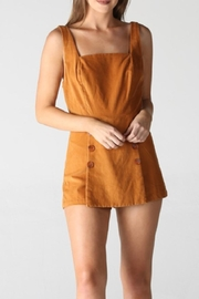 Angie Corduroy Romper - Product Mini Image