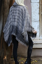 Angie Cowl Neck Poncho - Front full body