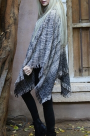 Angie Cowl Neck Poncho - Side cropped