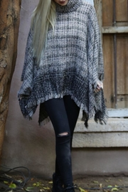 Angie Cowl Neck Poncho - Front cropped
