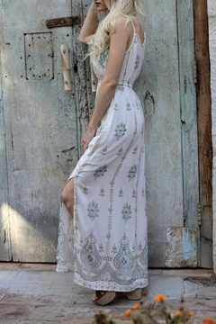 Angie Empire Waist Maxi Dress - Alternate List Image