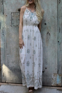 Angie Empire Waist Maxi Dress - Product List Image