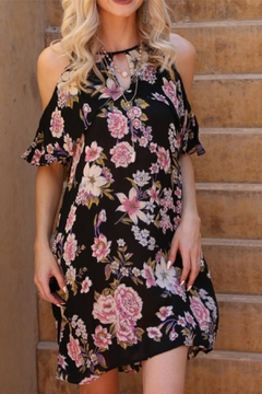 Angie Floral Ruffle Dress - Product List Image