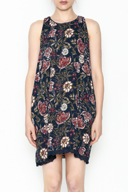 Angie Halter Floral Dress - Front full body