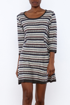 Angie Knit Stripe Dress - Product List Image