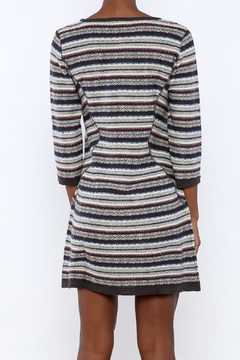 Angie Knit Stripe Dress - Alternate List Image